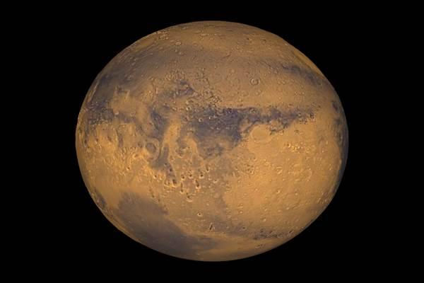 Terra Meridiani  di Planet Mars terlihat dalam gambar NASA - Reuters