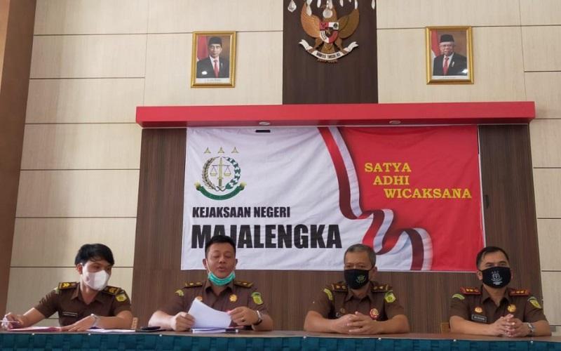 Gelar perkara di Kejaksaan Negeri (Kejari) Majalengka, Jawa Barat, Rabu (30/9 - 2020).