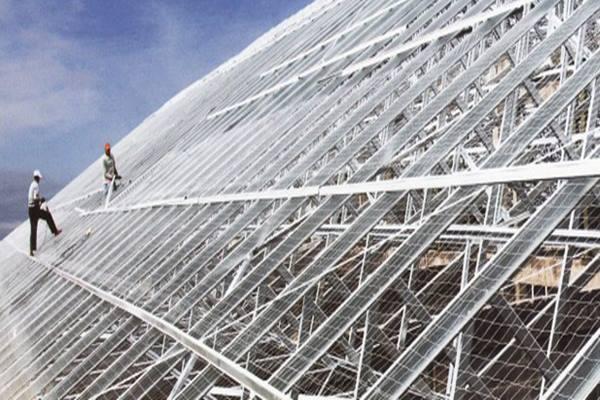 Baja ringan. Tata Metal memiliki kapasitas terpasang sebanyak 250.000 ton per tahun atau 15,87 persen dari total kapasitas terpasang nasional. - Istimewa