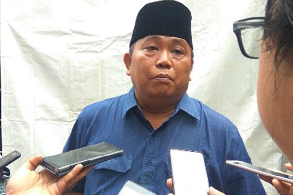 Ketua Umum Lembaga Pemantau Penanganan Covid-19 & Pemulihan Ekonomi Nasional (LPPC19-PEN) Arief Poyuono.  - Bisnis.com/Jaffry Prabu Prakoso