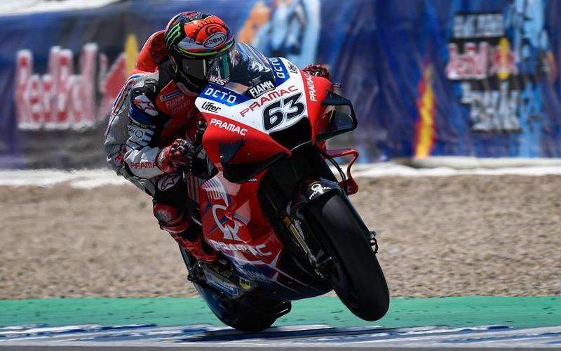 Pebalap tim Pramac Racing Francesco Bagnaia - Motogp