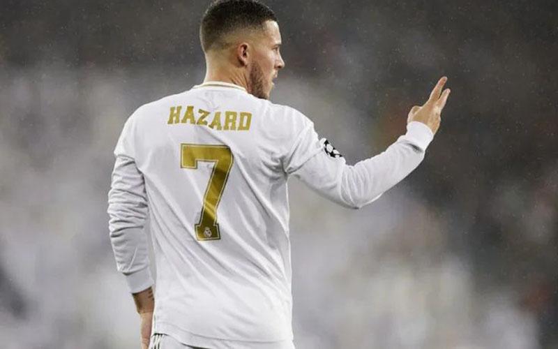 Penyerang Real Madrid Eden Hazard  -  Football Espana
