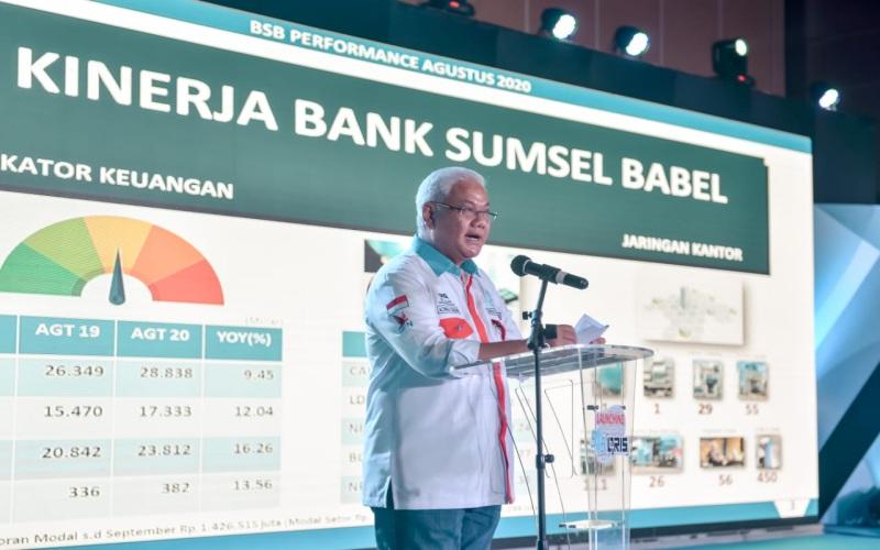 Direktur Utama Bank Sumsel Babel Achmad Syamsudin - Istimewa