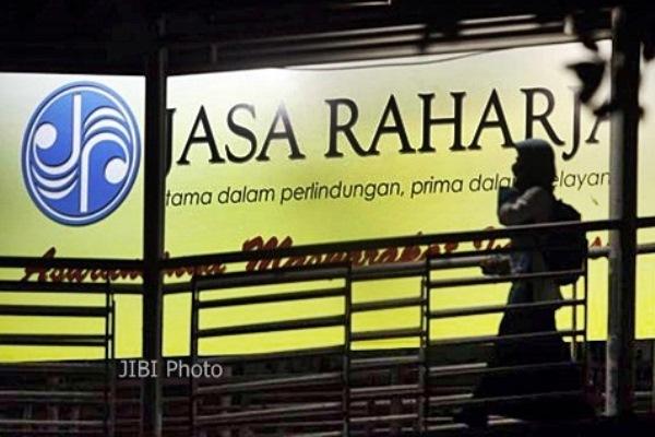 Ilustrasi - logo PT Jasa Raharja (Persero), salah satu perusahaan asuransi wajib yang ada di Indoenesia - JIBI