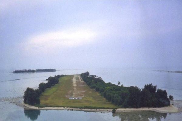 Bandara Pulau Panjang di Kepulauan Seribu - Istimewa