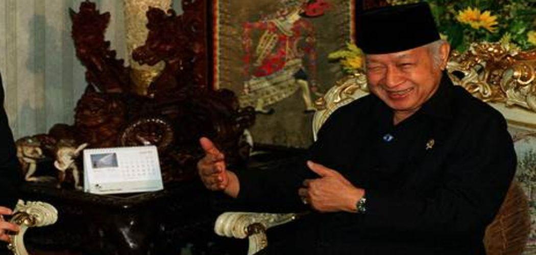 Mantan Presiden Indonesia Soeharto - Antara