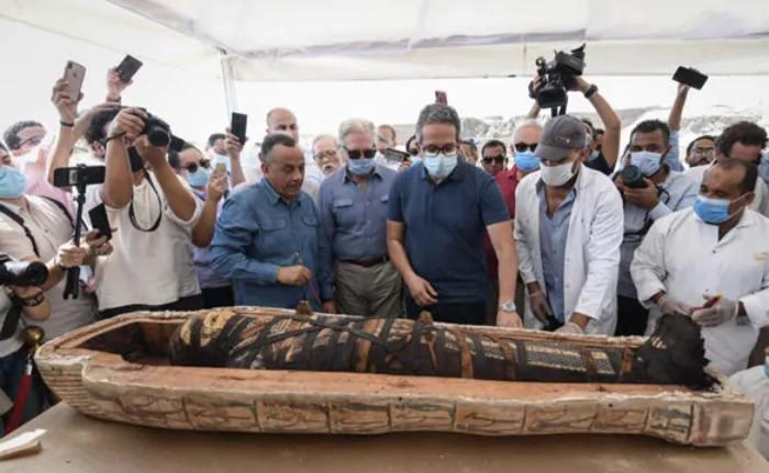 Temuan mumi di Mesir. -
