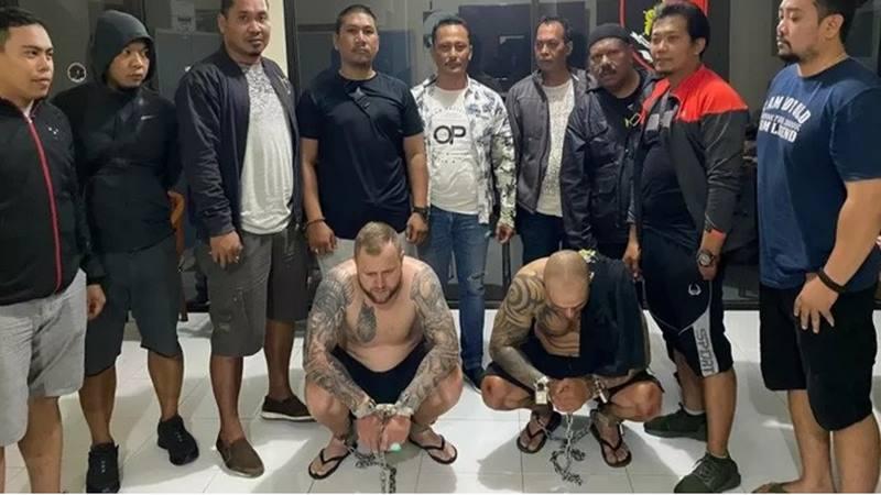 Polda Bali menangkap dua pelaku pencurian informasi data nasabah bank atau