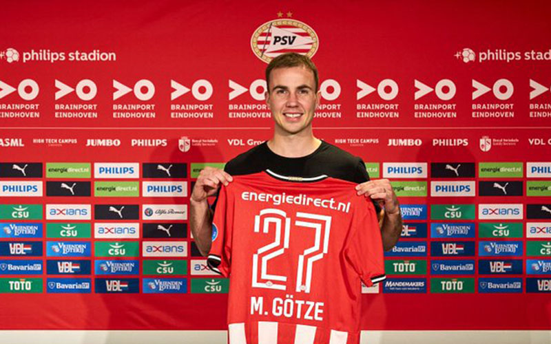 Mario GotzeTwitter PSV