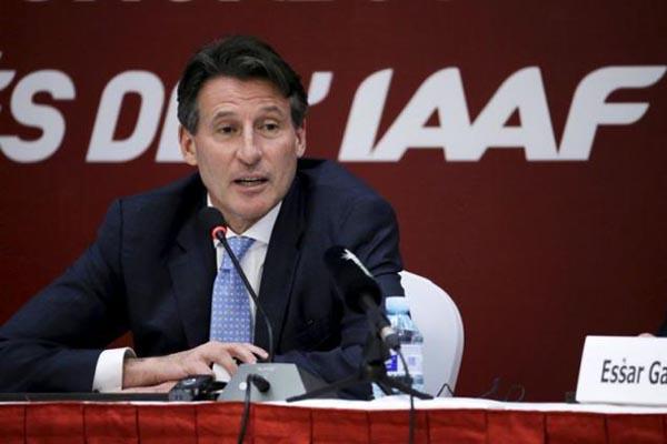 Presiden IAAF Sebastian Coe/Reuters - Jason Lee