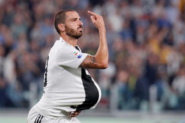 Bek Juventus Leonardo Bonucci - Reuters