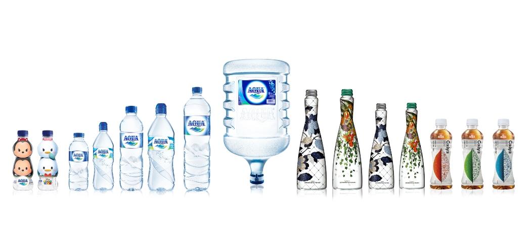 Produk-produk Aqua. - Dok. Aqua