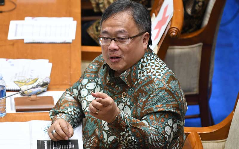 Menristek/Badan Ristek dan Inovasi Nasional (BRIN) Bambang Brodjonegoro - Antara/Puspa Perwitasari
