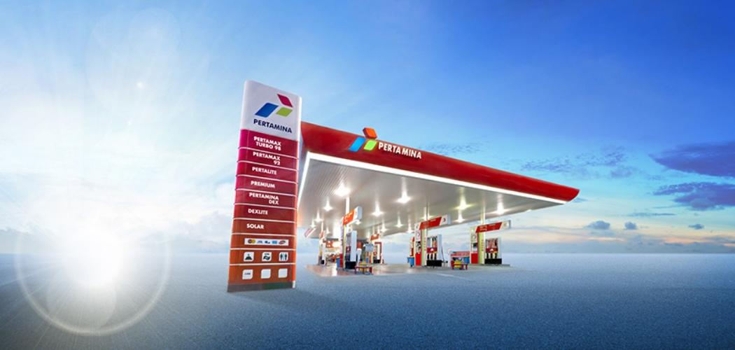 Stasiun pengisian bahan bakar umum Pertamina. - Sumber: Pertamina.com