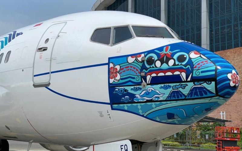 Ini Dia Desain Masker Livery Terbaru di Pesawat Garuda ...