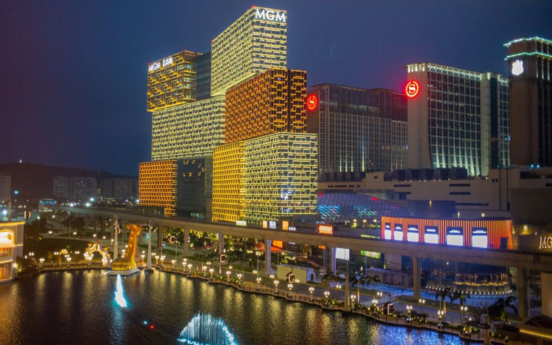 Makau, wilayah khusus milik China.  -  Bloomberg