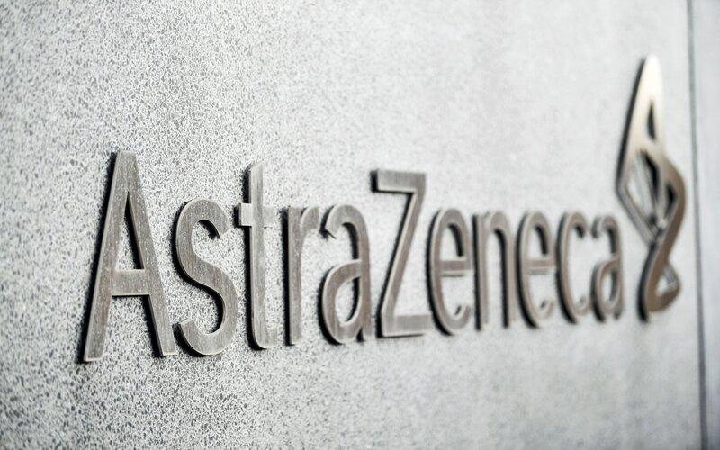 Logo AstraZeneca - Bloomberg