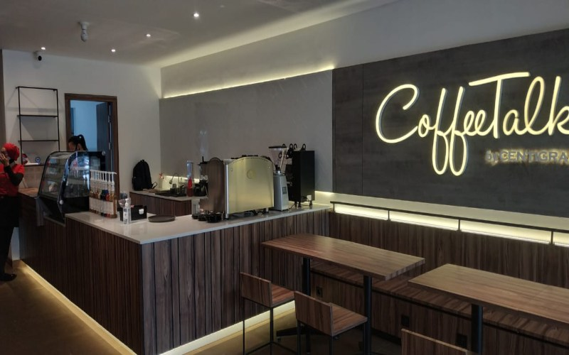 Salah satu gerai CoffeeTalk Indonesia. Istimewa