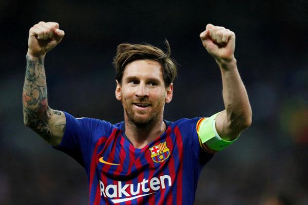 Ujung tombak FC Barcelona Lionel Messi - Reuters