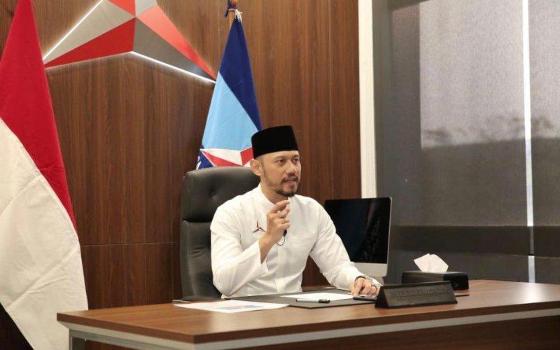 Ketua Umum Partai Demokrat Agus Harimurti Yudhoyono (AHY)  -  Twitter @AgusYudhoyono