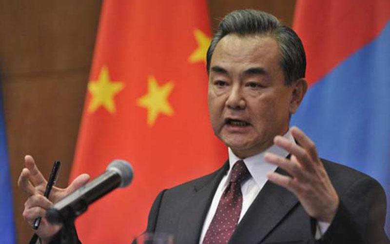 Menlu China Wang Yi - Reuters