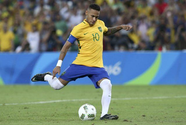 Ujung tombak Timnas Brasil Neymar da Silva Jr. - Reuters