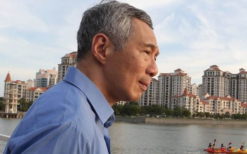 PM Singapura Lee Hsien Loong menegaskan negeri itu akan melakukan sejumlah langkah baru menghadapi Corona - Faceboo/Lee Hsien Loong