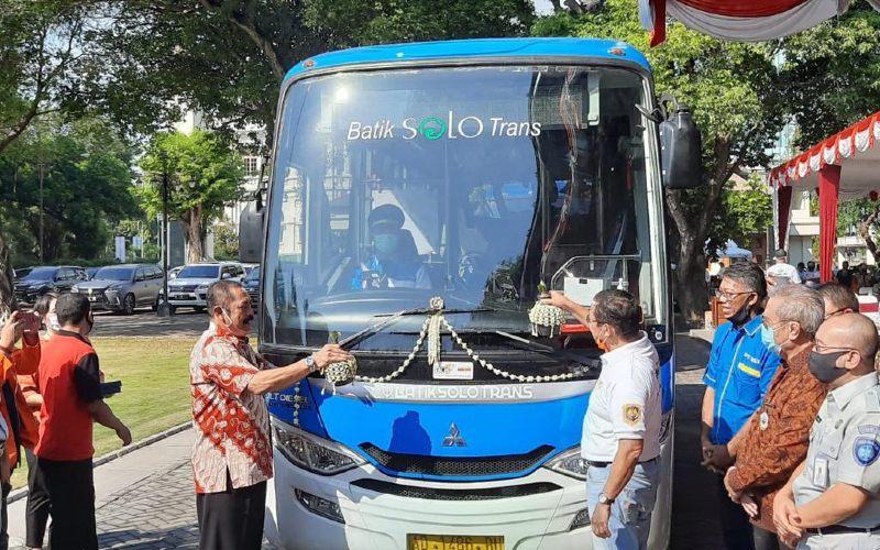 Teman Bus sebagai bagian implementasi program Buy the Service (BTS) Kementerian Perhubungan untuk menunjang mobilisasi masyarakat perkotaan.  - TemanBus
