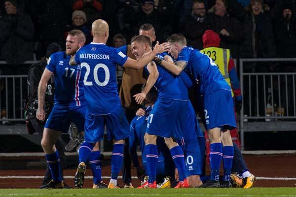 Timnas Islandia - Reuters