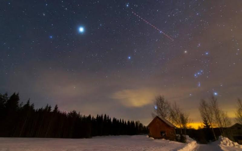 Puncak hujan meteor orionoid
