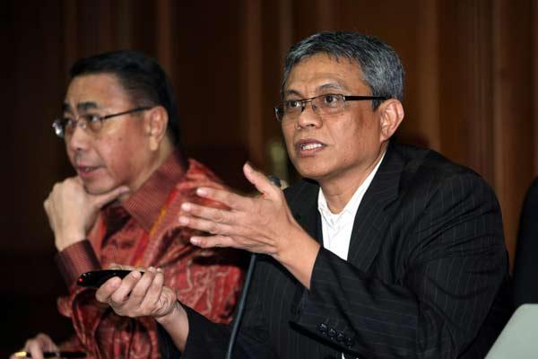 Ketua Lembaga Pengkajian, Penelitian dan Pengembangan Ekonomi Kadin Indonesia Didik J. Rachbini.  - Bisnis.com