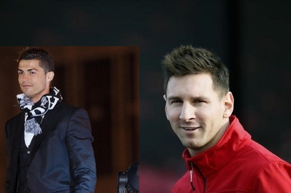 Cristiano Ronaldo dan Lionel Messi. - Reuters