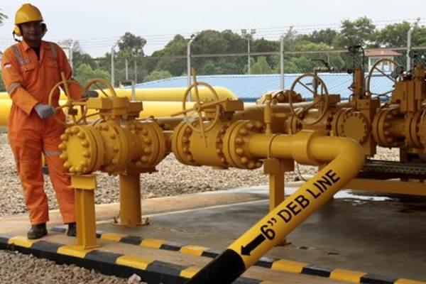 Ilustrasi: Pipa gas milik sebuah perusahaan gas. - ANTARA