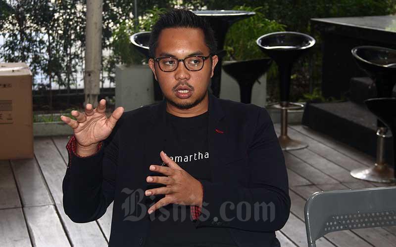 CEO Amartha Andi Taufan Garuda Putra. Bisnis - Triawanda Tirta Aditya