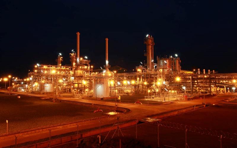Ilustrasi: Fasilitas Produksi Gas Donggi yang pembangunannya dikerjakan oleh PT Rekayasa Industri. - Sumber: www.rekayasa.com