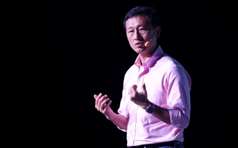 Menteri Transportasi Singapura Ong Ye Kung. - Bloomberg
