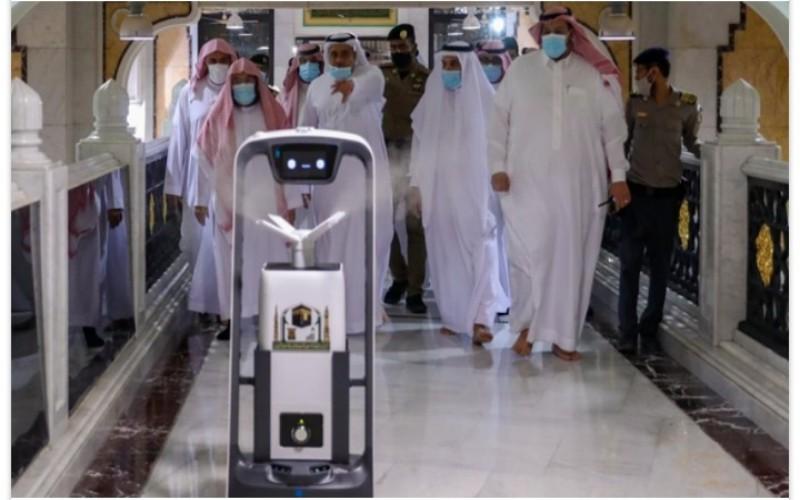 Robot sterilisasi