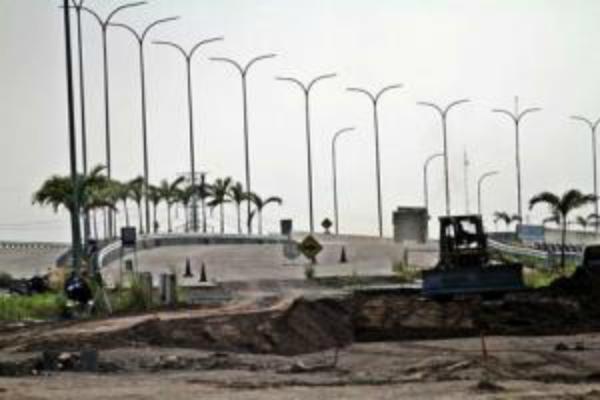 Ilustrasi: Pembangunan jalan tol. - Istimewa