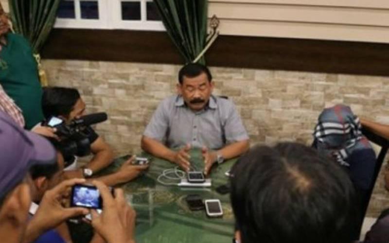 Mantan Danjen Kopassur Mayjen TNI Purn. Soenarko - Antara