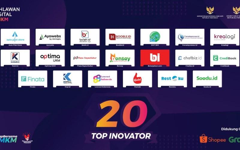 Ilustrasi Pahlawan Digital UMKM 2020. - istimewa
