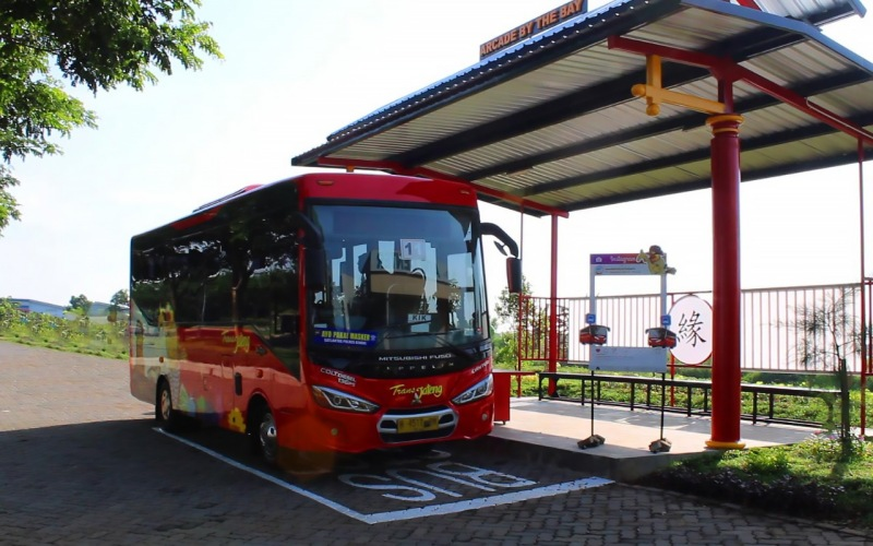 BRT Trans Jateng kini melayani hingga ke Kawasan Industri Kendal. - Istimewa