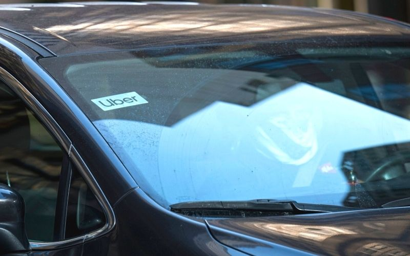 Mitra pengemudi Uber / Bloomberg