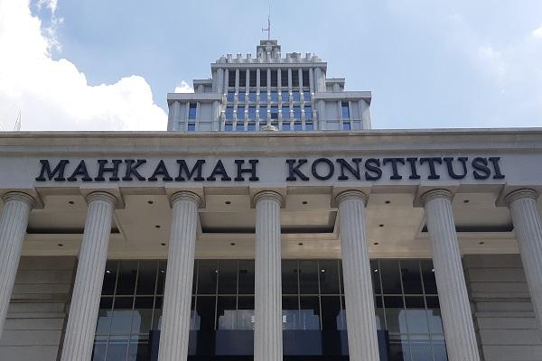 Gedung Mahkamah Konstitusi RI di Jakarta. -Bisnis.com - Samdysara Saragih