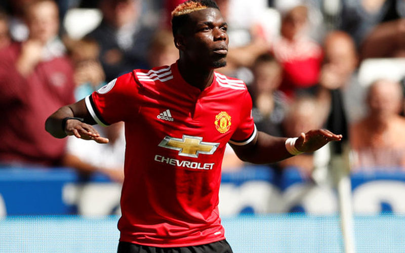 Gelandang Manchester United Paul Pogba/Reuters - Andrew Boyers