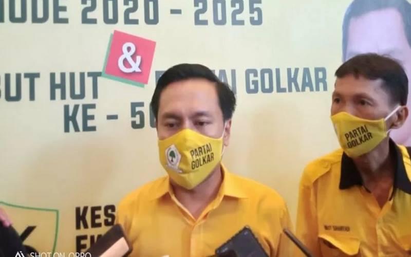 Ketua DPD Partai Golkar Surabaya Arif Fathoni. - Antara\r\n