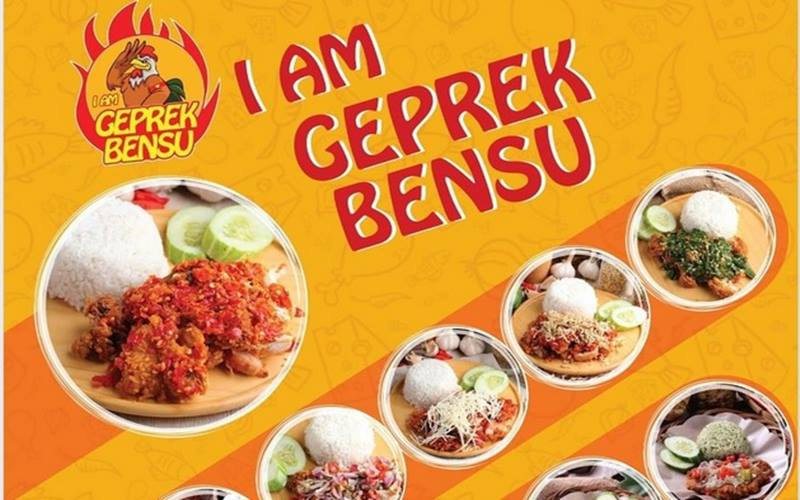 Kuliner I am Geprek Bensu. JIBI - Bisnis/Nancy Junita @facebook