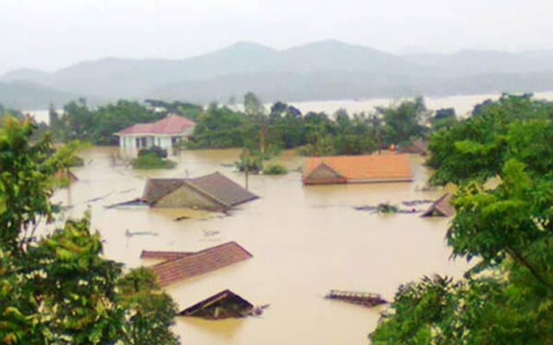 Ilustrasi/Banjir di Vietnam/floodlist.com