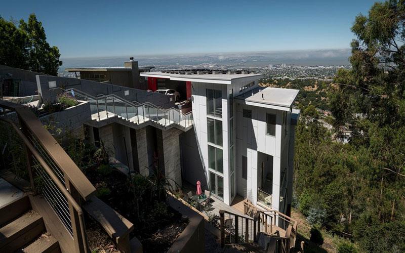 Ilustrasi perumahan mewah/Bloomberg - David Paul Morris