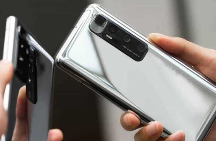 Xiaomi Mi 10 Ultra.