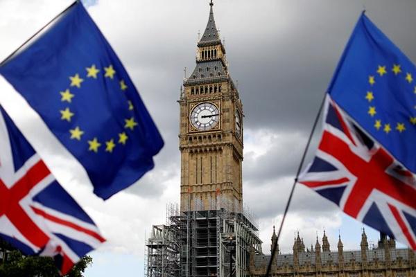 Ilustrasi brexit - Reuters